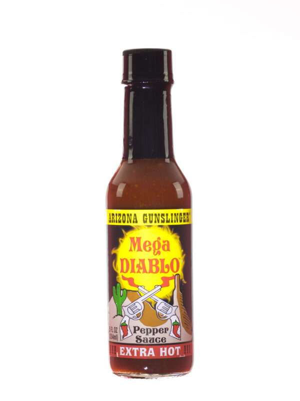 Arizona Gunslinger Mega Diablo Extra Hot Pepper Sauce