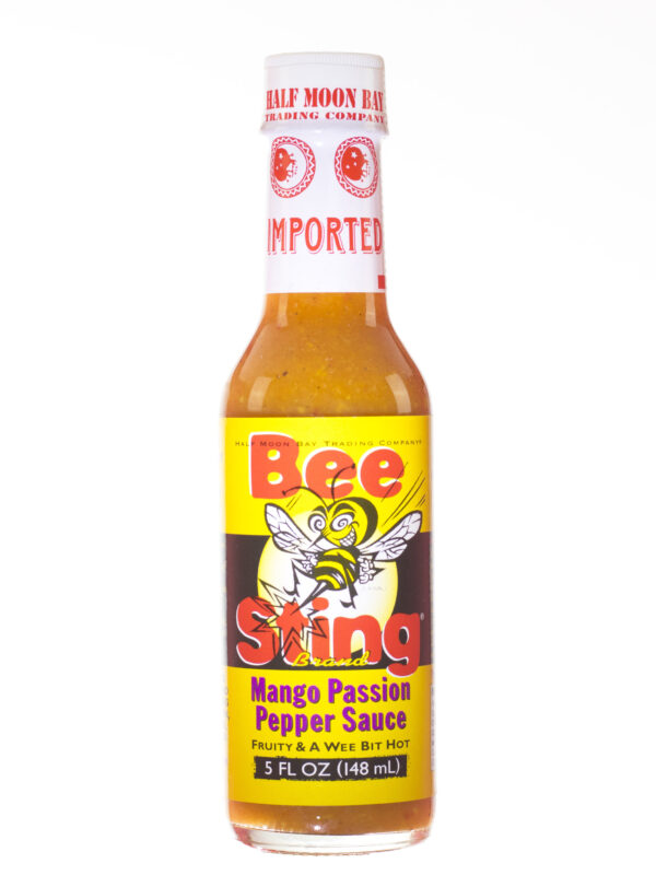 Bee Sting Mango Passion Pepper Sauce