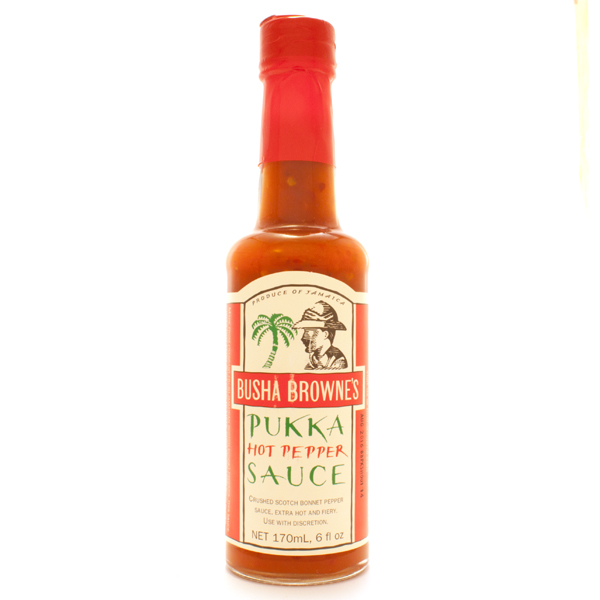 Busha Browne's Pukka Hot Pepper Sauce