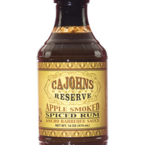 CaJohns Apple Smoked Spiced Rum Ancho Barbeque Sauce