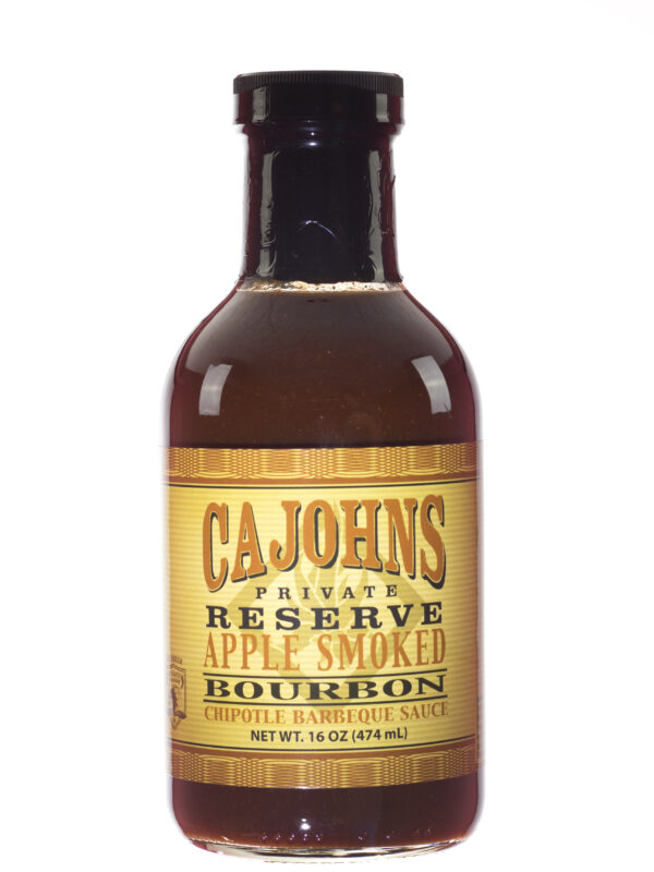 CaJohns Applewood Smoked Bourbon Chipotle Barbecue Sauce
