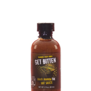 CaJohns Get Bitten Black Mamba 6 Hot Sauce