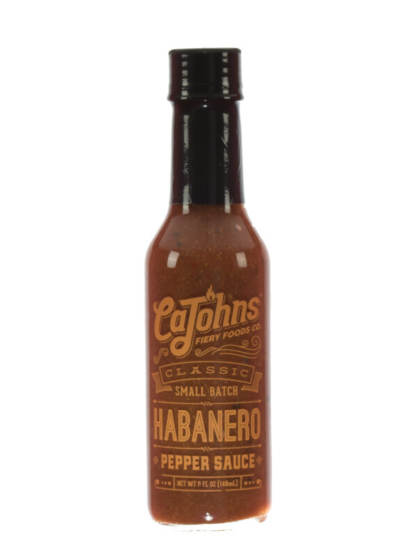 Cajohns Classic Habanero Pepper Sauce