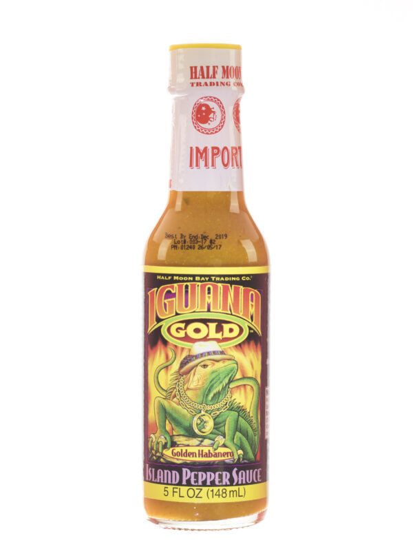 Iguana Gold Pepper Sauce