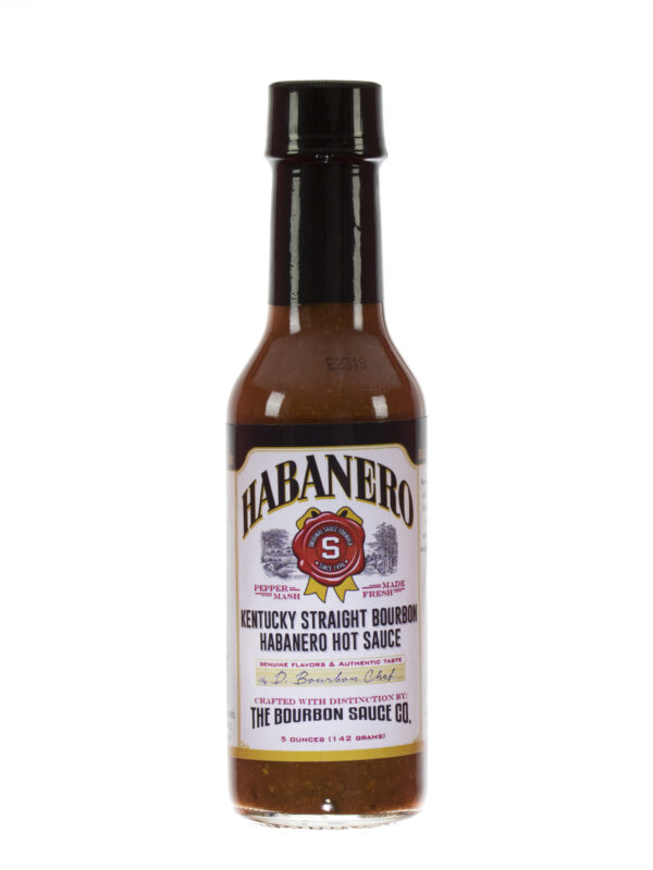 Kentucky Straight Bourbon Habanero Hot Sauce
