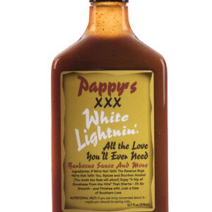 Pappy's XXX White Lightnin' Barbecue Sauce